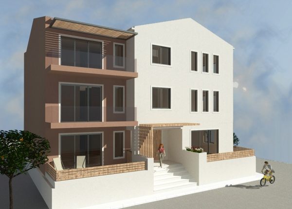 THREE STOREY BUILDING WITH SIX APARTMENTS INCLUDING BASEMENT